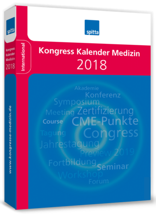 Kongress Kalender Medizin 2018 (Buch) | Medizin
